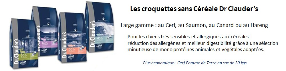 Best Choice croquettes hyposensibles BEST CHOICE Dr CLAUDER'S